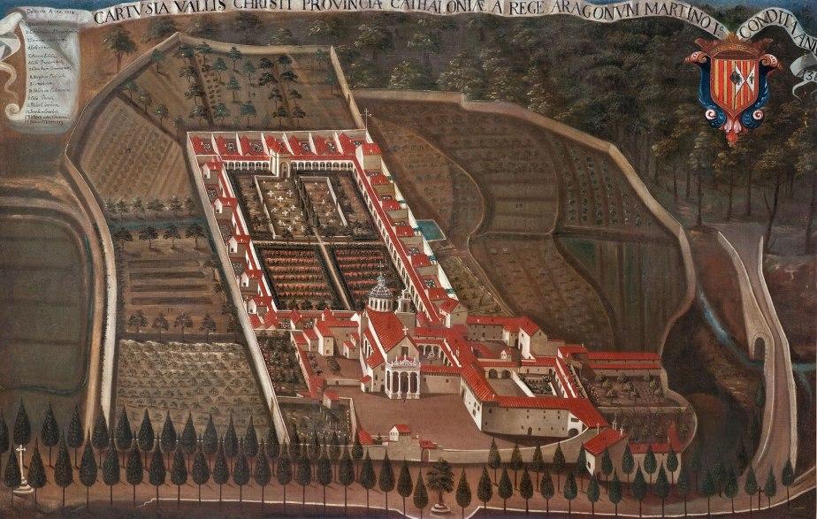 Cuadro de Valldecrist 1718 en Grenoble