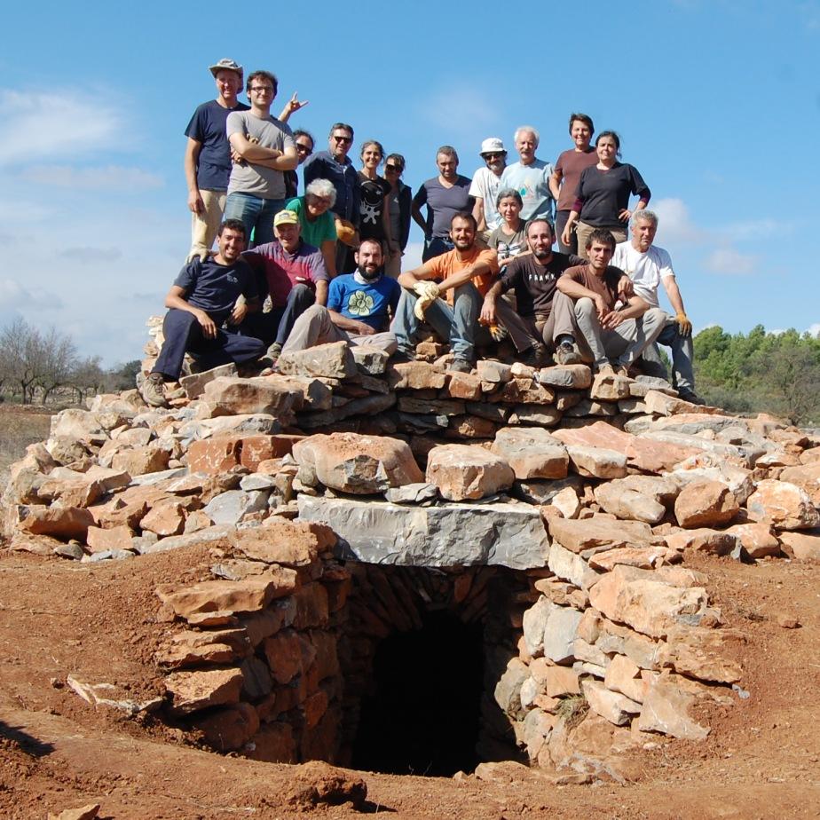 Grupo de trabajo en los Navajos de las Navas